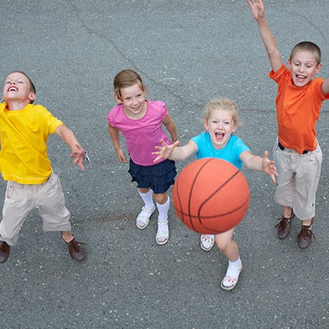 Coed Kindergarten Basketball