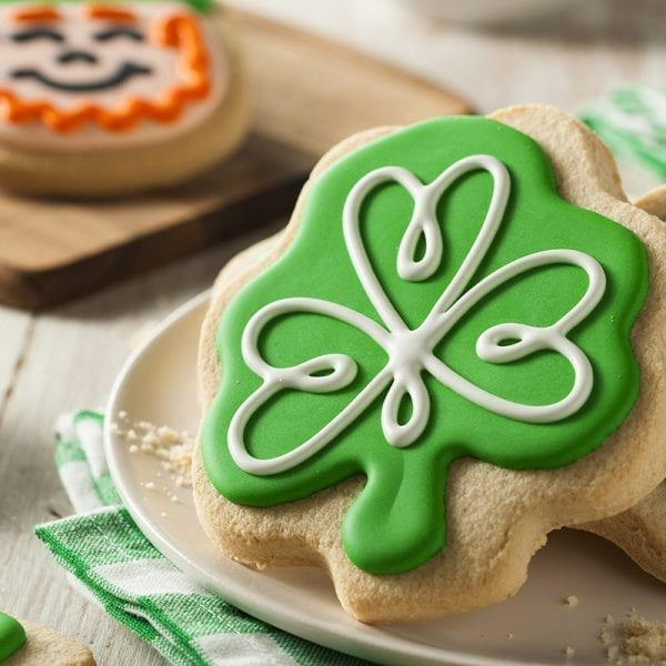 The Art of Cookie Decorating: St. Patrick's Day